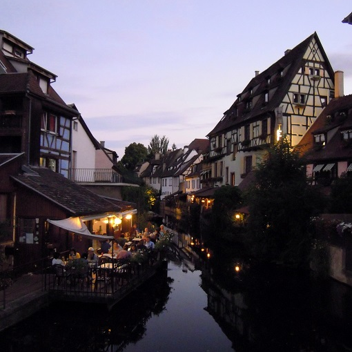 colmar-petit-venice-by-night
