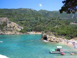 Paleokastritsa Corfù spiagge