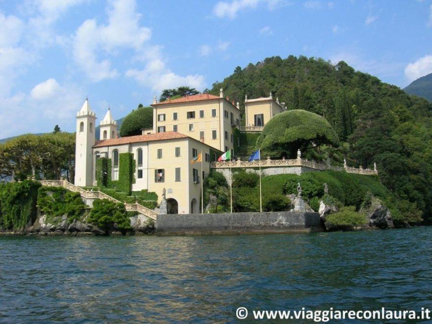 Lago di Como villa del balbianello