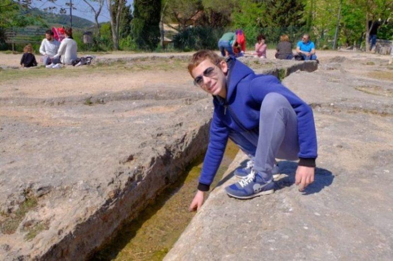 parco dei mulini bagno vignoni val d'orcia toscana