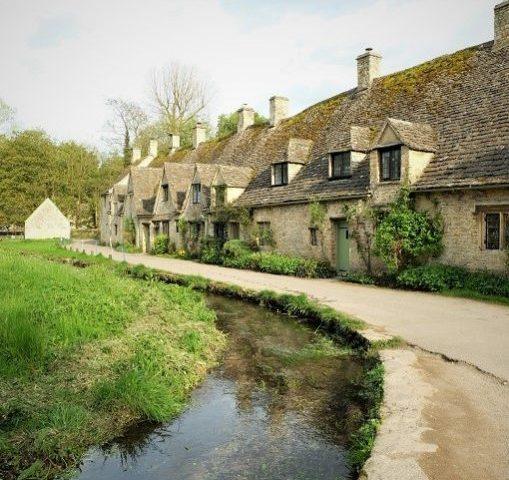 bibury cotswolds, england
