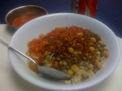 kushari piatto egiziano
