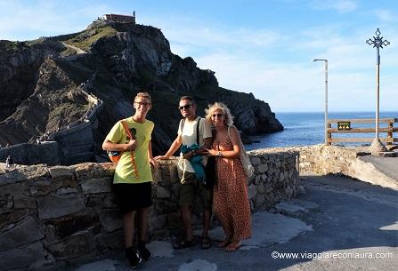 San Juan de Gaztelugatxe itinerario paesi baschi