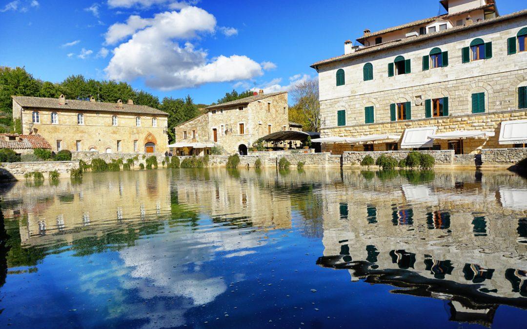Le Terme di Bagno Vignoni benessere in Val dOrcia