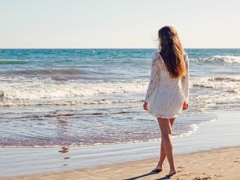 giovane a mare