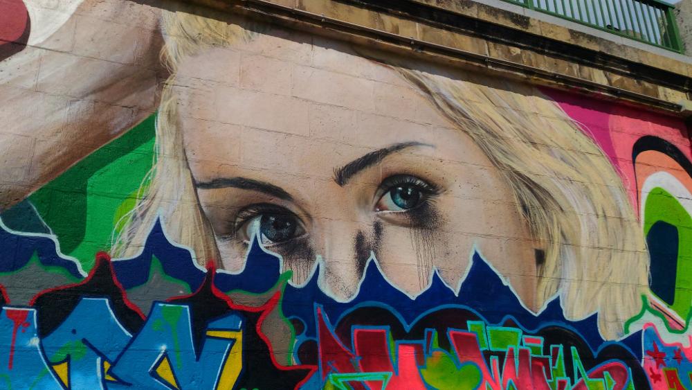 Street art lungo il Donaukanal