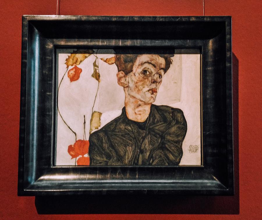 Autoritratto di Schiele
