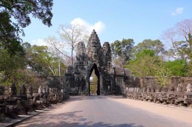 Cambogia - Angkor Thom - Porta nord
