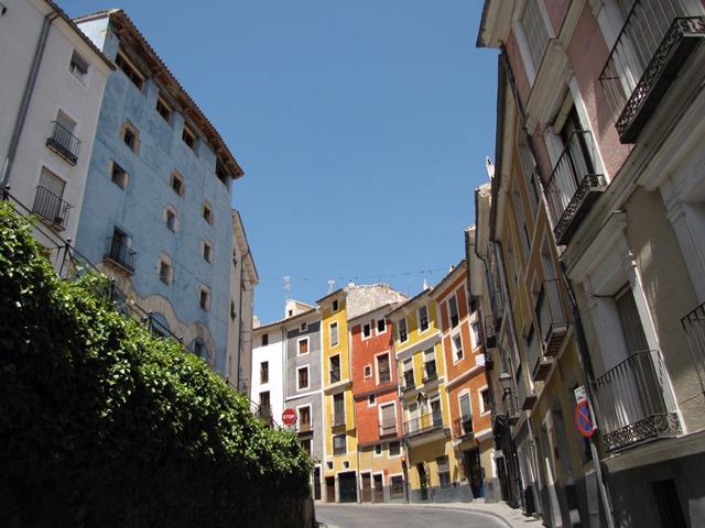 Spagna - Cuenca - Case colorate