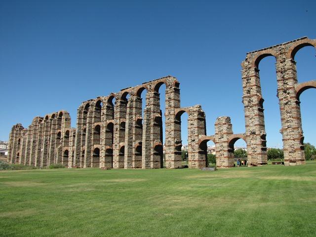 Spagna - Mérida - Acueducto de los Milagros