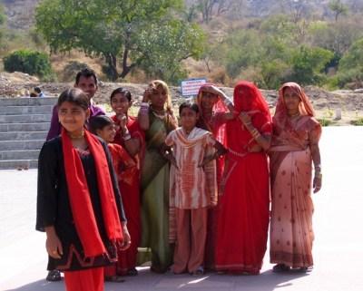 India - Ranakpur - Donne