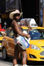 U.S.A. - New York City - Naked Cowboy Oysters