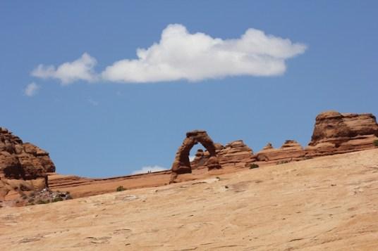 Viaggio in moto negli USA - Utah - Arches National Park - Delicate Arch