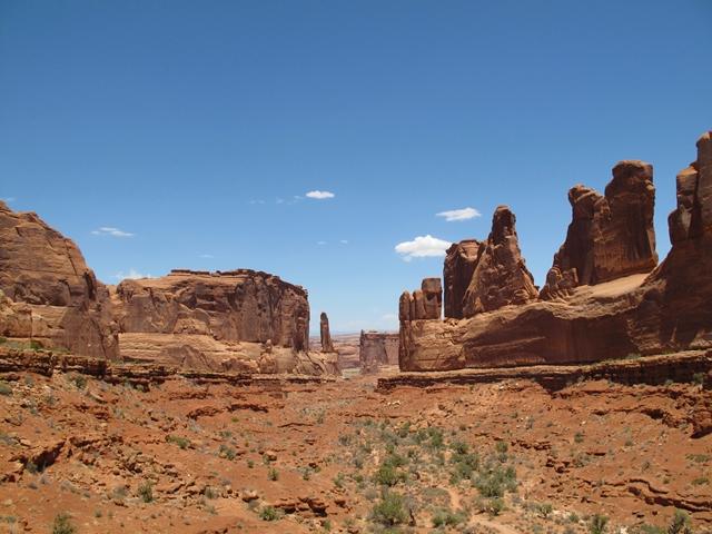 Viaggio in moto negli USA - Utah - Arches National Park - Scenic View