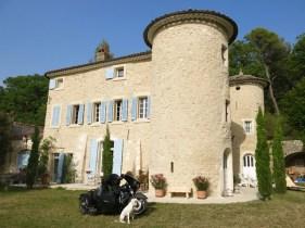 France - Apt - Château de Peyrolles