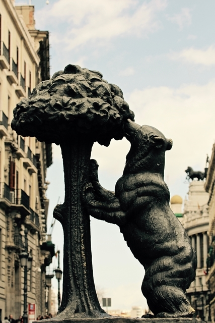 Statua dell'Orso e del Corbezzolo