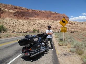 U.S.A. - Utah - Arches National Park - Segnali stradali