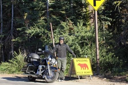 U.S.A. - California - Yosemite National Park - Segnali stradali