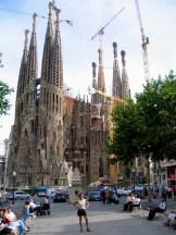 Spagna - Barcelona - La Sagrada Famìlia