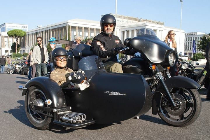 The 2016 Distinguished Gentleman's Ride sidecar