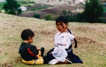 Ecuador - Ingapirca - Scene di vita