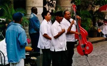 Cuba - L'Avana - Complesso musicale