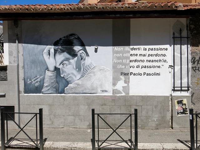 Arte Urbana (Street Art) - Pigneto: Montano - Pasolini