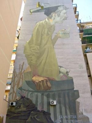 Arte Urbana (Street Art) - Tor Pignattara: Etam Cru - Coffee Break