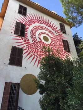 Arte Urbana (Street Art) - Tor Marancia: Domenico Romeo - Alme Sol Invictus