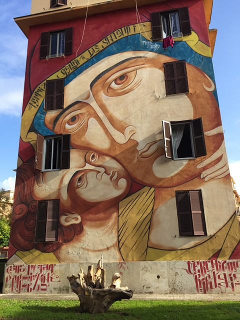 Arte Urbana (Street Art) - Tor Marancia: Mr. Klevra - Santa Maria di Shanghai