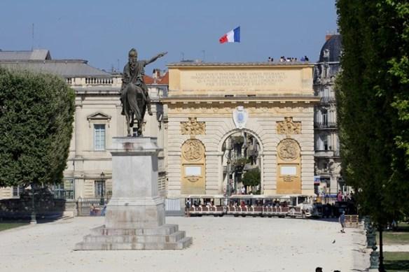 Montpellier Place Royale du Peyrou