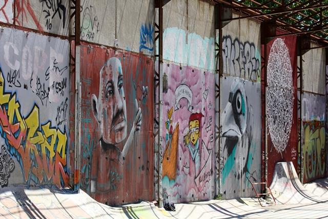 Darwin l'Éco-Système - Street Art