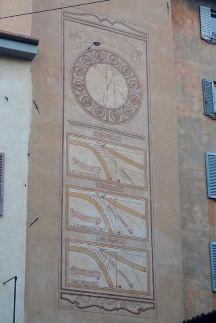 Bergamo Città Alta Torre della Meridiana