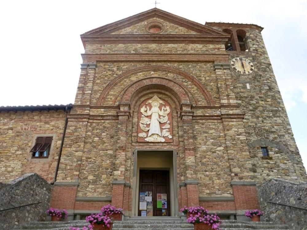 Panzano in Chianti - Chiesa di Santa Maria