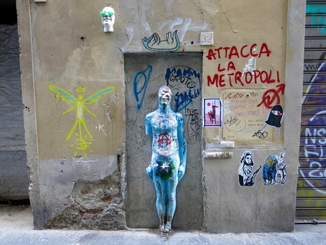Firenze arte di strada murale