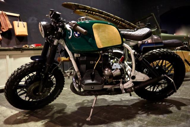 Eternal City Custom Show Motorcycles 2018 Roma cafè racer