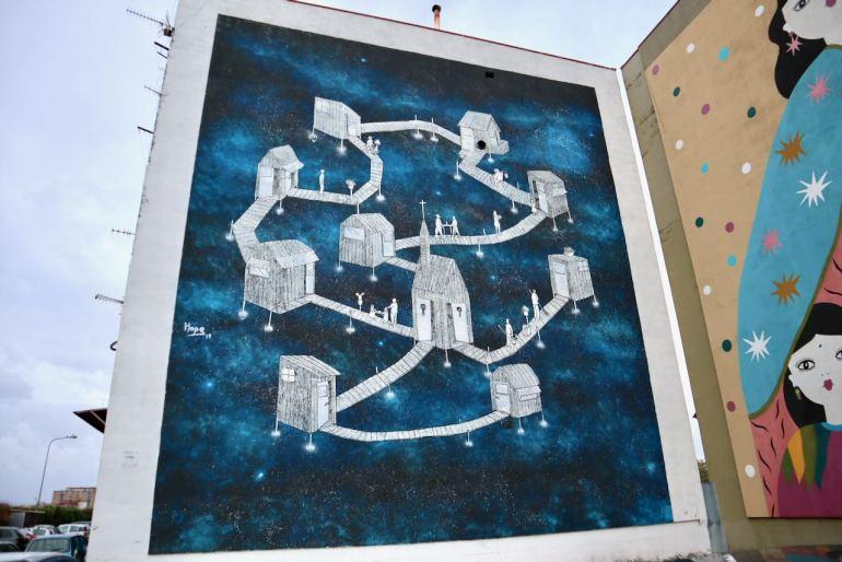 Daniele Hope Nitti Napoli street art Napoli tour murales