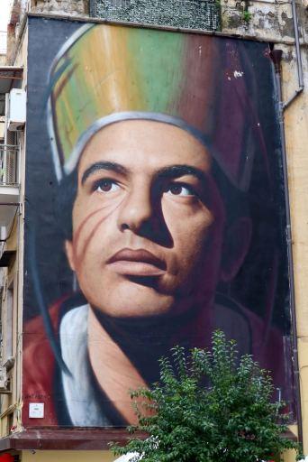 Jorit Agoch Napoli tour murales