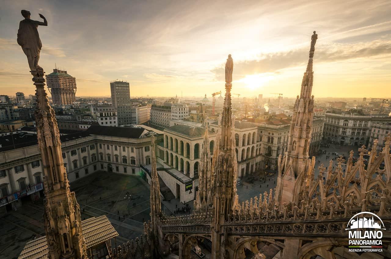 Milano dallalto dove andare per avere panorami mozzafiato  Viaggiatori Nel Tempo