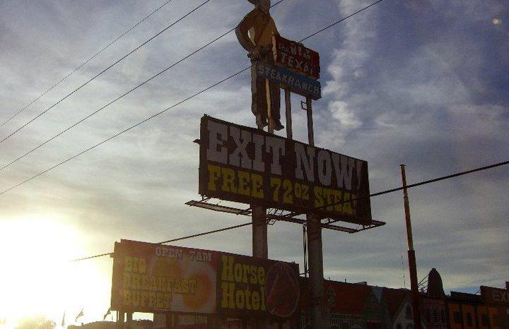 Dove mangiare a… Amarillo (Texas): Big Texan Ranch