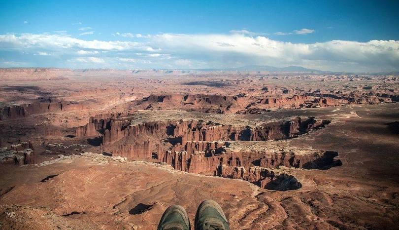 L'infinito a Canyonlands