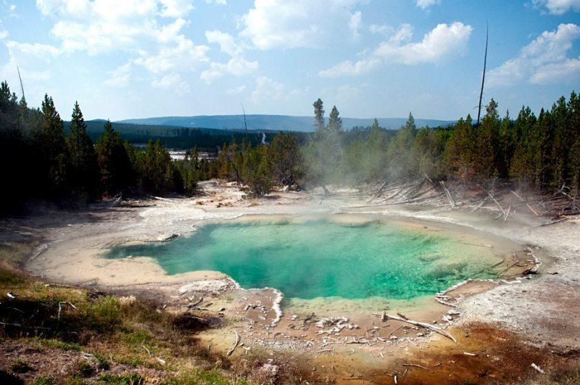 Yellowstone pozze coloratissime