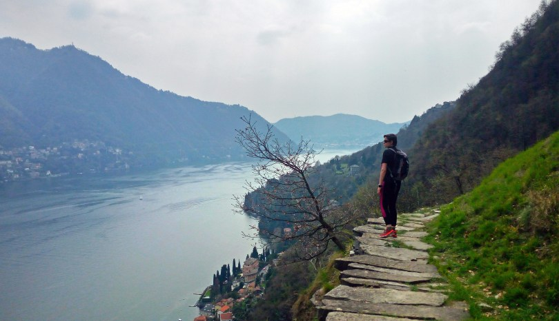 Il Sentee di Sort: natura e panorami sul Lago di Como