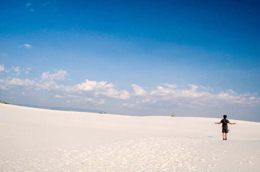 white sands parchi più belli usa
