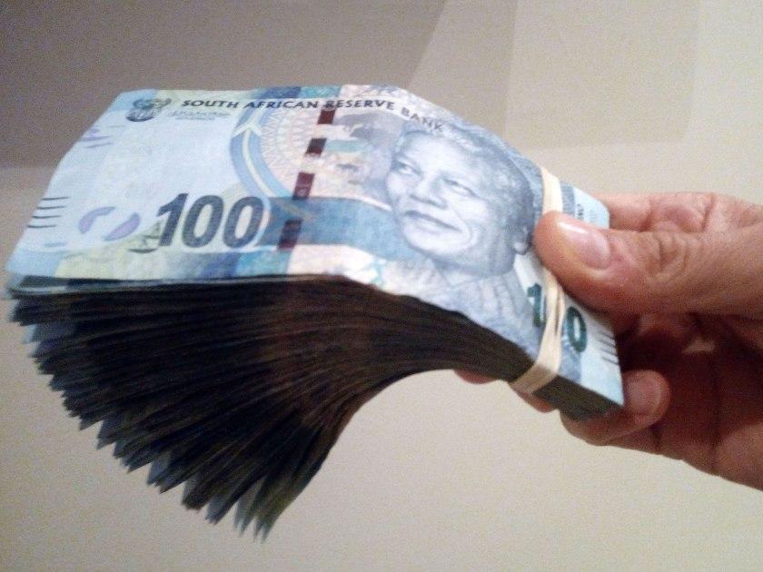 sudafrica denaro e mance