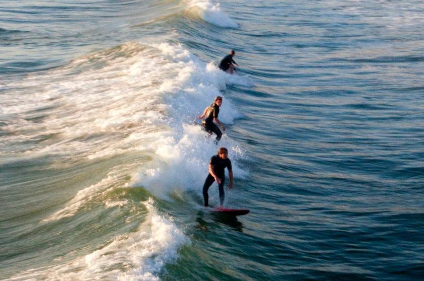 fare surf in California