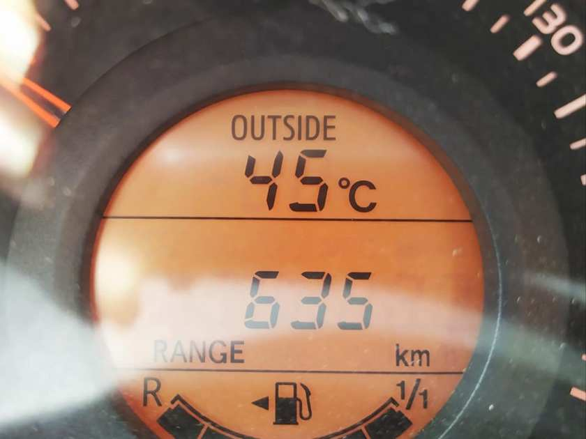45 gradi in Marocco