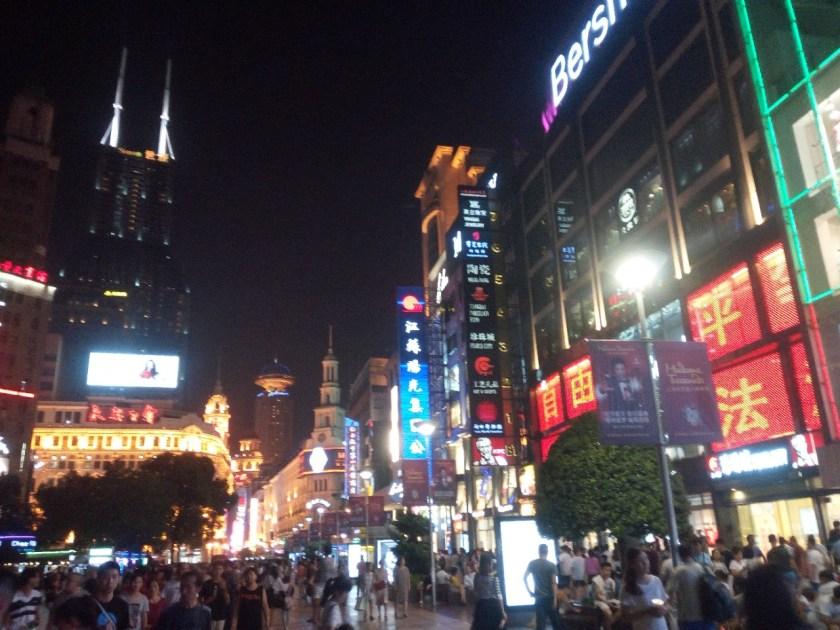 Nanjing Road-10 cose da fare a Shanghai