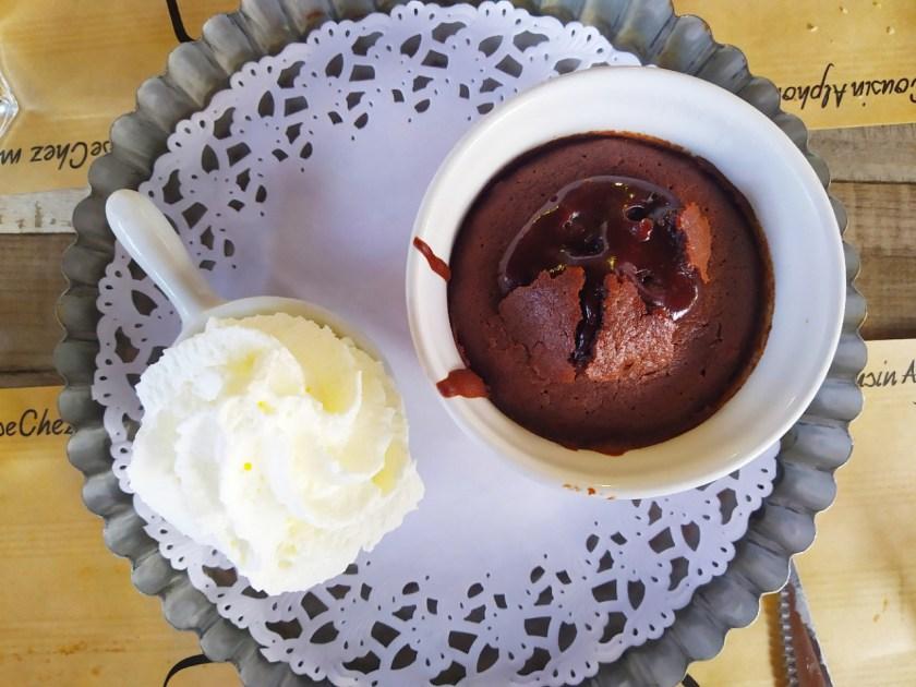 il dolce francese più buono molleaux au chocolat