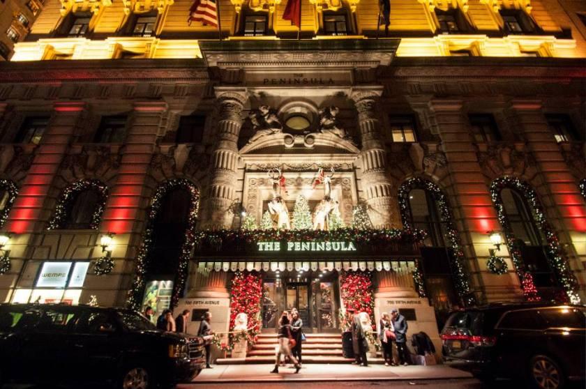 Natale a New York decorazioni e luci